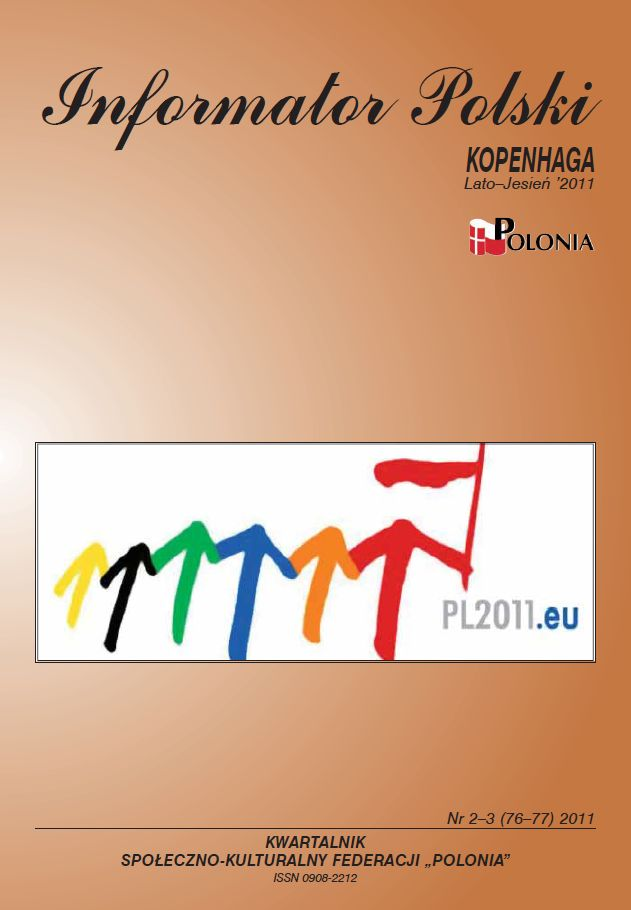 Nr. 2-3 (76-77)  Lato - Jesień 2011